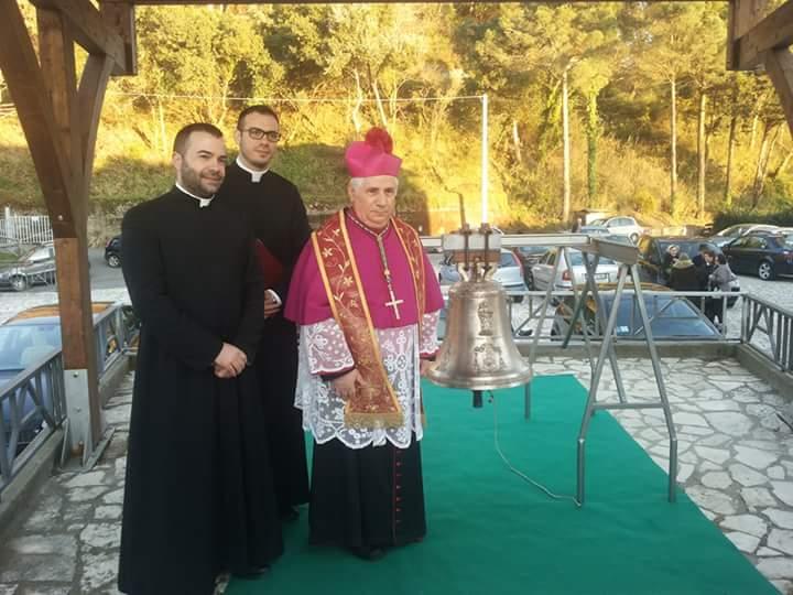 Benedizione Campana Marinelli Santuario Dipodi