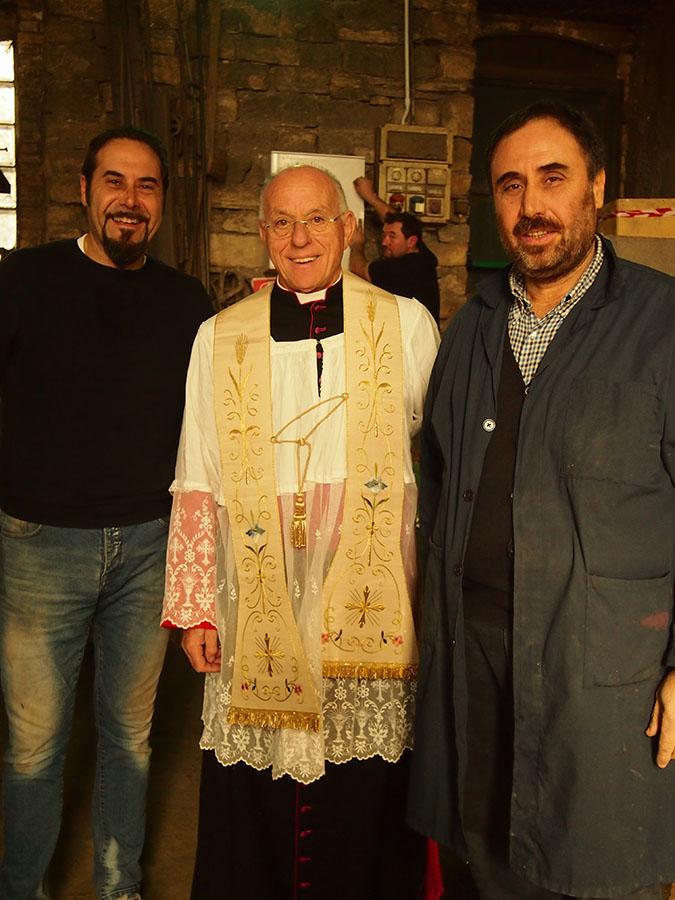 Marinelli e Mons. Liberio Andreatta