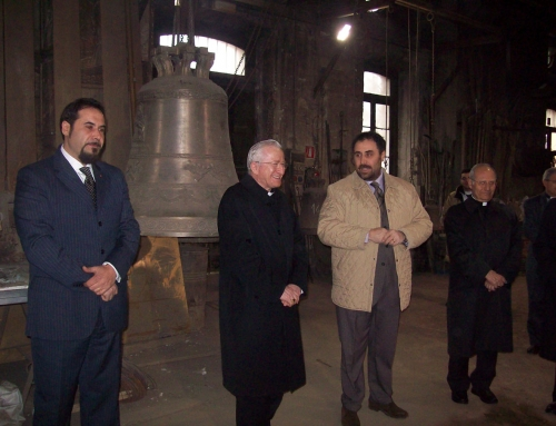 Il Cardinale Ennio Antonelli in visita ad Agnone