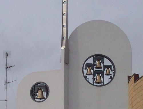 Concerto di cinque campane presso la Parrocchia Immacolata di Modugno.