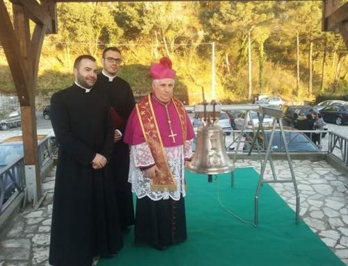 (Italiano) Benedizione Campana Santuario Madonna di Dipodi