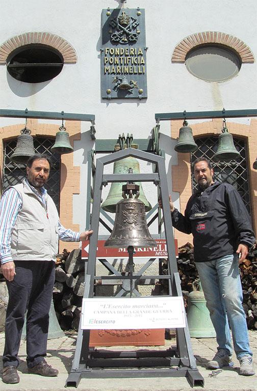 Fratelli Marinelli - Campana della Grande Guerra